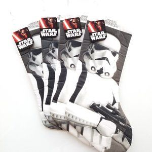 new Star Wars Set of 4 XL Storm Trooper Stockings